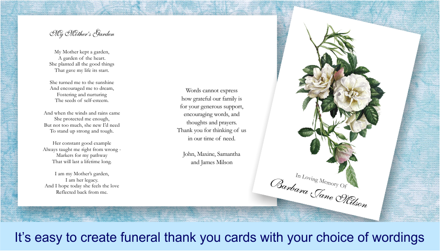 funeral and breavement poems