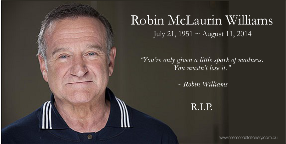 Robin Williams Dies Aged 63