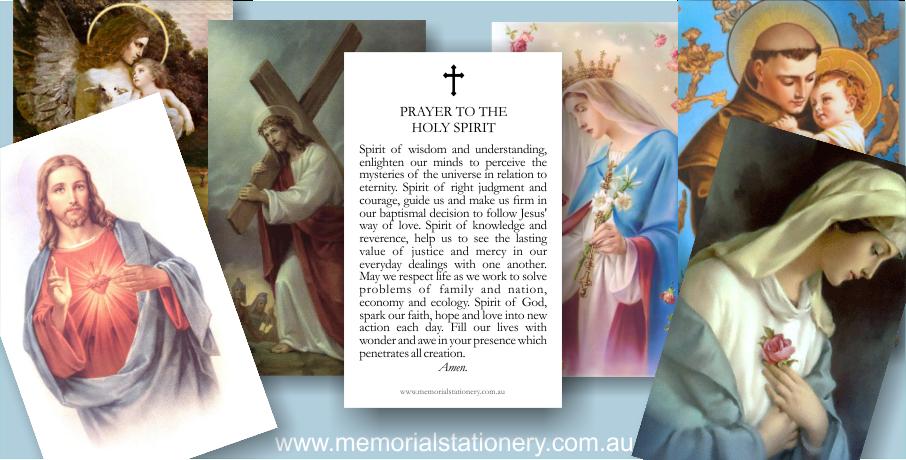 Catholic Holy CardsMemorial & Funeral Stationery Blog | Memorial ...